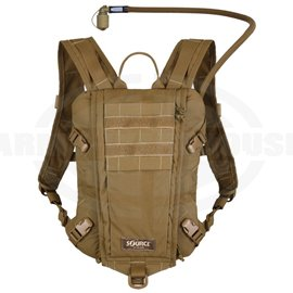 SOURCE - RIDER 3L Low Profile Hydration Pack, Trinkrucksack, coyote