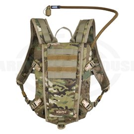 SOURCE - RIDER 3L Low Profile Hydration Pack, Trinkrucksack, multicam