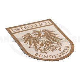 Bundesheer-Hoheits-Klettabzeichen, desert