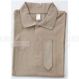 BH KAZ03 Polo-Shirt - beige - NEU