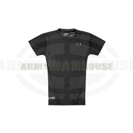 UA Tactical HeatGear Compression Tee - schwarz (black)