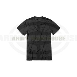 UA Tactical HeatGear Charged Cotton Tee - schwarz (black)