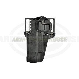 CQC SERPA Holster für Glock 17/22/31 Left - schwarz (black)
