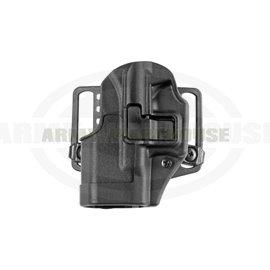 CQC SERPA Holster für Glock 26/27/33 Left - schwarz (black)