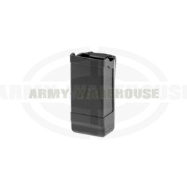 Blackhawk - Mag Case Double Row - schwarz (black)