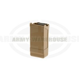 Mag Case Double Row - coyote brown