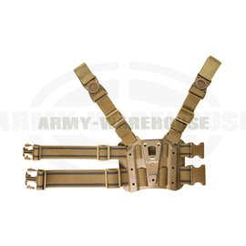 Tactical Holster Platform - coyote brown