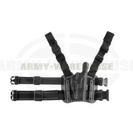 SERPA Holster für Glock 17/19/22/23/31/32 - schwarz (black)
