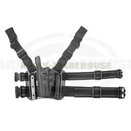 SERPA Holster für Glock 17/19/22/23/31/32 Left - schwarz (black)