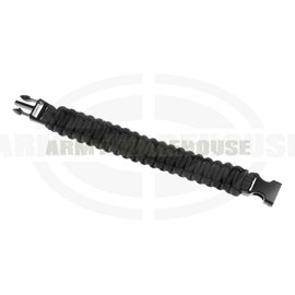 Paracord Bracelet - schwarz (black)
