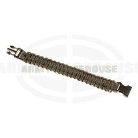 Paracord Bracelet - Gun Grey