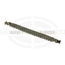 Paracord Bracelet Compact - Grey