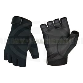 Half Finger Shooting Gloves - schwarz (black)