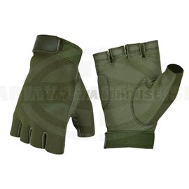 Half Finger Shooting Gloves - OD