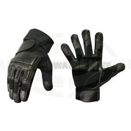 Enforcer Leather Gloves - schwarz (black)