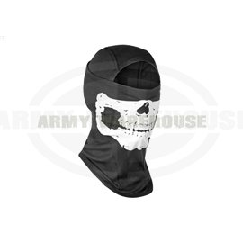 MPS Death Head Balaclava - schwarz (black)