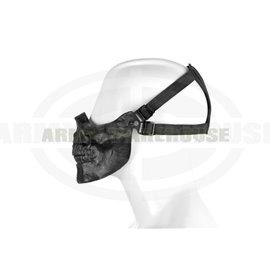 Skull Half Face Mask - schwarz (black)