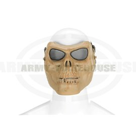 Skull Face Mask - Bone