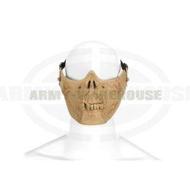 Skull Half Face Mask - Bone