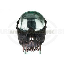 Desert Corps Half Face Mask Metallic