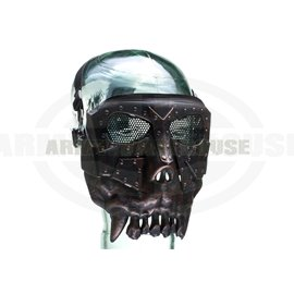 Squared Desert Corps Mask Metallic