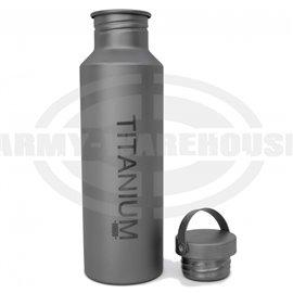 Vargo Titan Wasserflasche - m. Titan Deckel, 650 ml