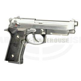 M9 Vertec Silver GBB