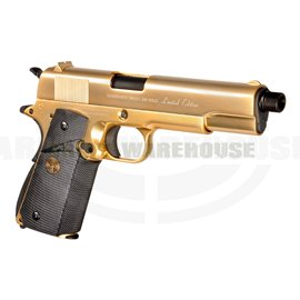 24K Gold Plated M1911 Full Metal GBB