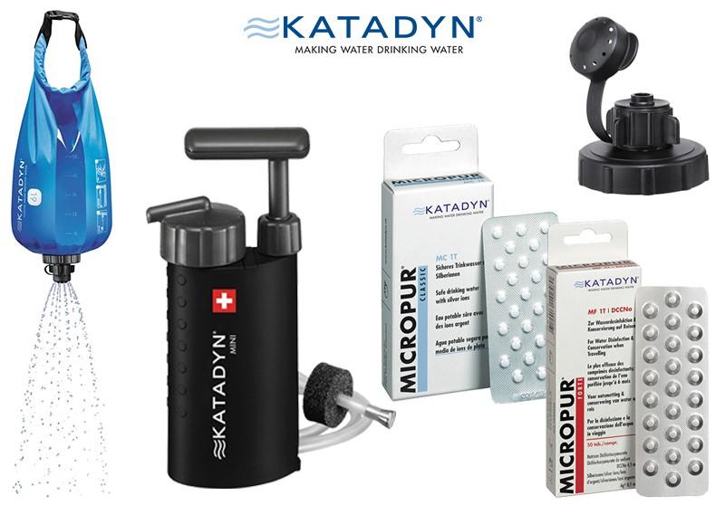 Katadyn - Wasserfilter, Micropur & Entsalzer